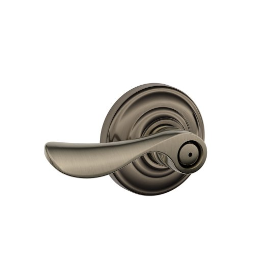 (Schlage Champagne Privacy Lever, Andover Rose, Antique Pewter)