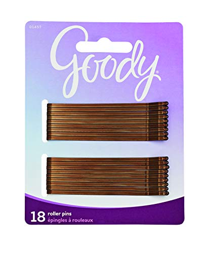 Goody Styling Essentials Bobby Pins, Brown, 3 Inches, 18 Count (Pack of - Bronze Mortar