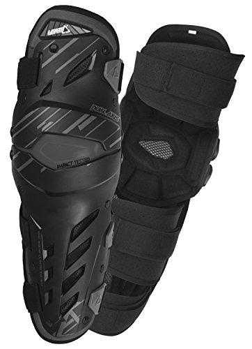 (Leatt Dual Axis Knee Guard (Black, Large/X-Large))