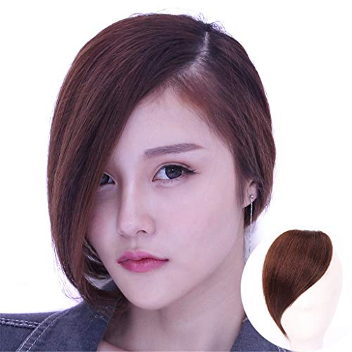 Moreal One Piece Clip in Side Swept Bangs 12
