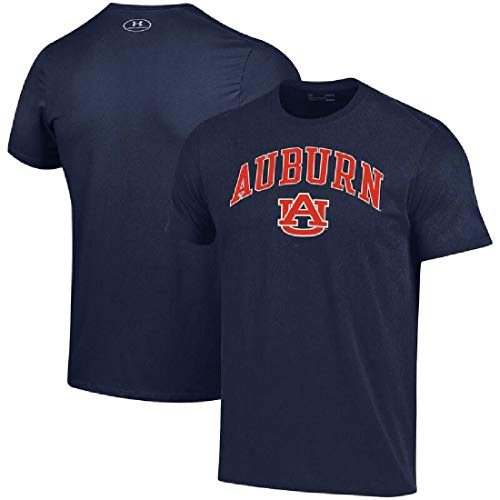 Under Armour Auburn Tigers Poly Dry HeatGear NuTech Performance Shirt (Medium) ()