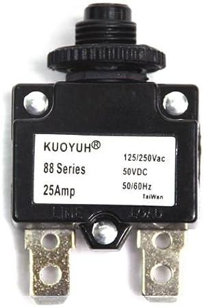 1pc KUOYUH Circuit Breaker 88 series 125//250VAC 50//60Hz 3A