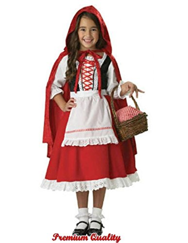 InCharacter Costumes Big Girl's Girls Little Red Riding Hood Costume Childrens Costume, Multi, Medium