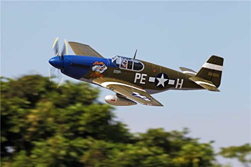 FMS P-51B Mustang Dallas Darling 1450mm (57