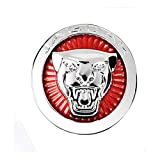Car Gearshift Knob Frame Ring Trim Cover Sticker for Jaguar XF/XE /XJ/XJL/F-PACE (Pack of 1) (3D)