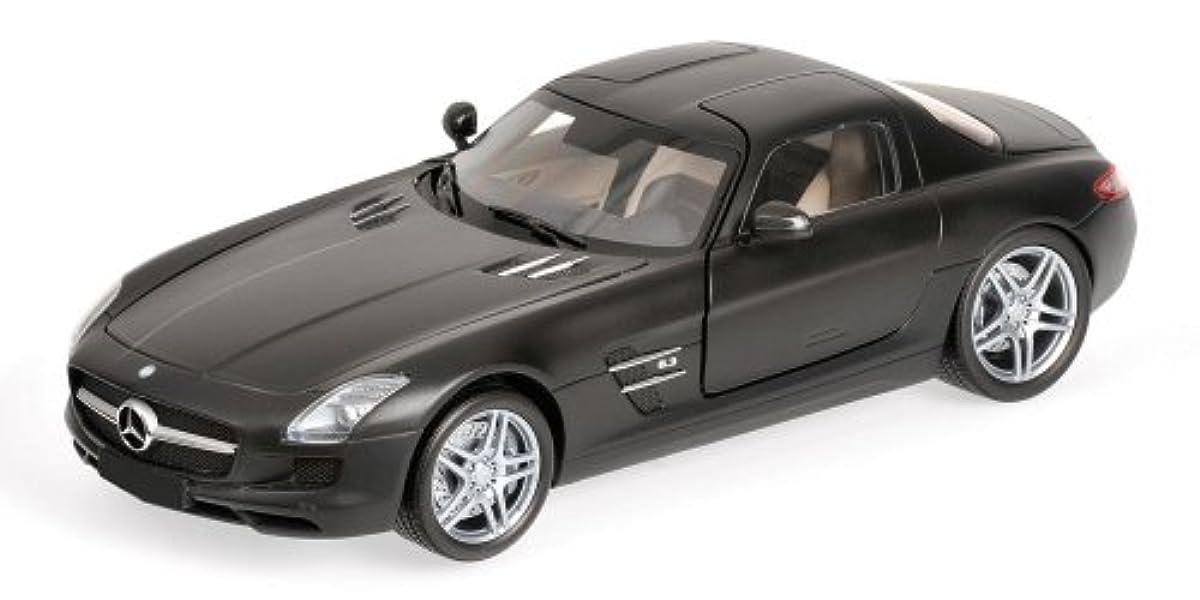[해외] PMA 1/18 메르세데스 벤츠 SLS AMG 2010 매트 블랙 완성품