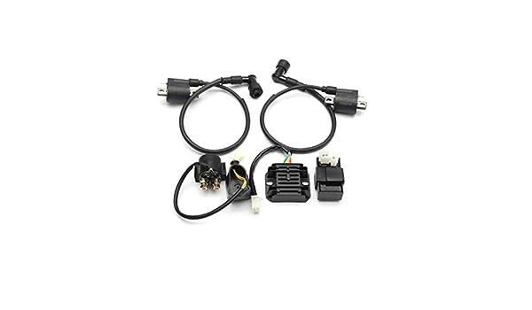 Viviance ZHVIVY 150cc 200cc 250cc Bobina de Encendido CDI Regulador Rectificador Relay Set ATV Quad
