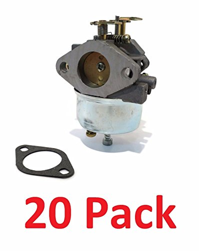 (20) CARBURETORS Carb for Tecumseh 632334A 632111 HM70 HM80 HMSK80 HMSK90 Engine by The ROP Shop by The ROP Shop