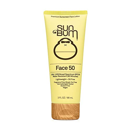 Sun Bum Original SPF 50 Sunscreen Face Lotion | Vegan and Reef Friendly (Octinoxate & Oxybenzone Free) Broad Spectrum…