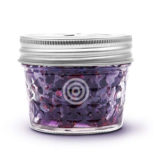 Lavender Car - VIOIS, Lavender Aromatherapy Car Air Freshener(Gel Type). Natural Air Freshener for Car, Bedroom, Bathroom & Office. Chemical Free & Non Toxic. Ball Mason 4 ounce (113g) jar.