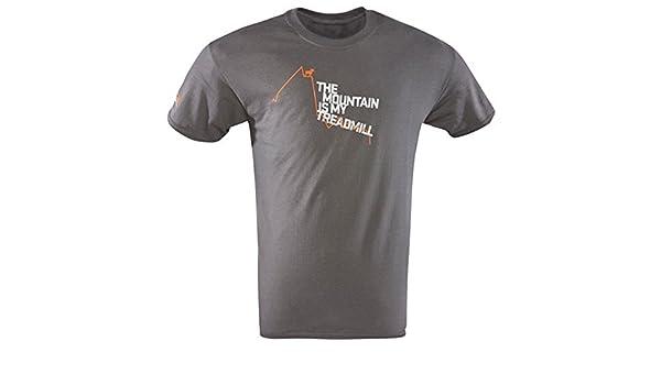 SITKA cinta de correr corta camiseta de carbón (20006-ch), Carbón ...