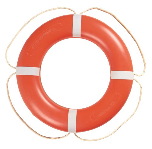 Taylor Made Products 570001 Aer-O-Buoy Canadian Coast Guard Approved Boat Life Ring (24'', Orange) by TAYLOR MADE PRODUCTS