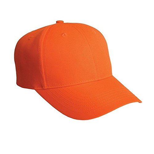 Ajsutable Casquette Baseball gris Baseball Solide Unisexe Chapeau Couleur Orange Accessorystation Sports Fermeture xaZXq1qw