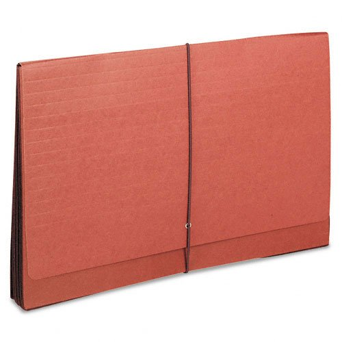 Smead Super-Tuff 7 Inch Expansion Wallets, Manila/Redrope, Legal Size (71167) -