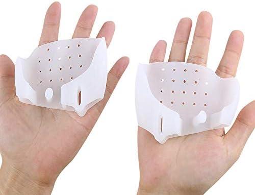 Tatapai Orthopädische Einlegesohlen 1 PaarFußpflegewerkzeugValgus Korrektur desPediküre-Korrektors Für Zehenabscheider Für Zehen