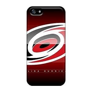 Scratch Resistant Hard Phone Case For Iphone 5/5s (dKZ9053ZKrO) Unique Design Beautiful Carolina Hurricanes Skin