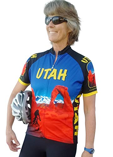 (Free Spirit Wear Womens Utah Cycling Jersey Small )
