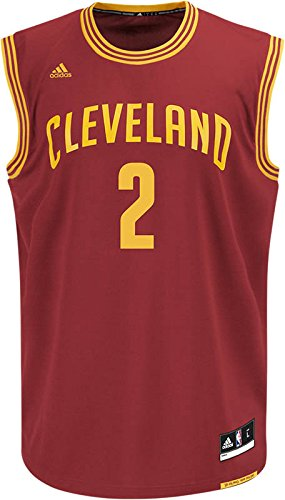 competitive price 1c88f 9a971 NBA Cleveland Cavaliers Replica Jersey Kyrie Irving  2, Medium - Buy ...