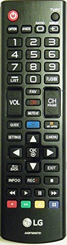 Genuine LG akb75055701 remote control. Compatible with AKB74