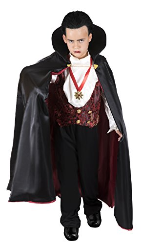 Vampire Costumes For Kids (Kangaroo's Halloween Costumes - Vampire Count Costume, Youth Medium 8-10)