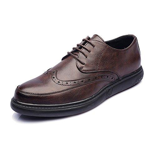 con Cordones PU Clásico Mocasines Cordones Suela PU Cordones Zapatos Diseño 110765