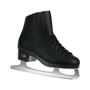 Riedell Model 10 Boys Ice Skates, Black, Size 1