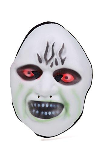 Boogie Man Full Face Scary Mask Halloween Party Unisex Horror Story Creepy Adults (Light green, blood red, black, white) (Mascaras De Halloween De Terror)