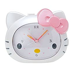 Wake me up in the voice of Kitty Hello Kitty alarm clock alarm clock Sanrio cute decor series