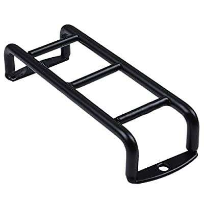 rcaidong RC Metal Mini Stairs Ladder Accessories for Traxxas TRX4 TRX-4 Defender SCX10 D90 1/10 RC Crawler Car: Toys & Games