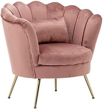 Deal of the week: Velvet Armchair Comfy Chairs Living Room Arm Chair Big and Thick Club Chair Vanity Chair