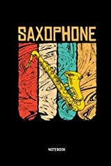 Are you looking for a great gift for a loved person or someone close to you?              This is the perfect gift for all saxophonists. Great for taking notes around your saxophone music, as a diary. for collecting ideas and ...