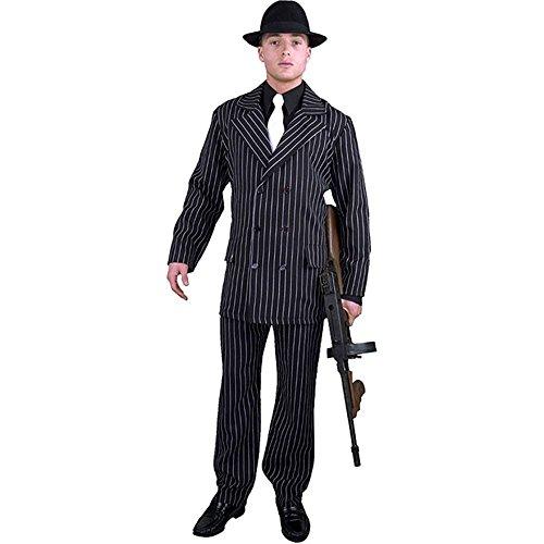 Gangster Man Suit Plus Size Costume