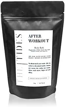 The Tides After Work Out Body Bath Soak - Travel Size, 150 g.