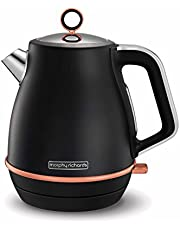 Save on Morphy Richards Evoke Jug Kettle Special Edition 104414 Jug Kettle Black and Rose Gold and more