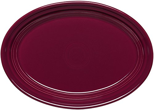 Fiesta 9-5/8-Inch Oval Platter, Claret (Fiesta Ware Small Platter compare prices)