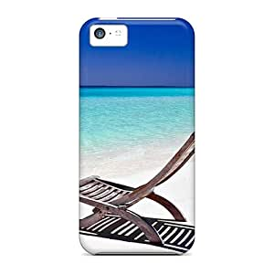 Excellent Iphone 5c Case Tpu Cover Back Skin Protector Beach Chair