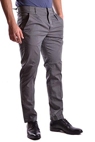 Dondup Homme UP384GS024UPTD910 Gris Coton Pantalon