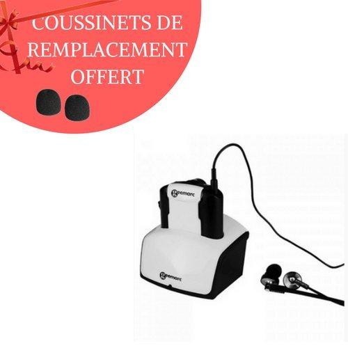 Auricular TV adicional cl7350 opticlip inalámbrico con entrada óptica incluye coussinet: Amazon.es: Electrónica