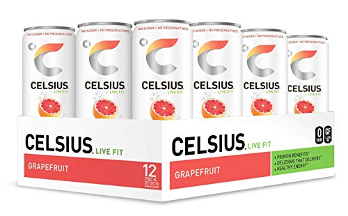 CELSIUS Sweetened Sparkling Grapefruit Fitness product image