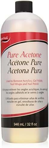 Supernail Pure Acetone, 32 Fluid Ounce