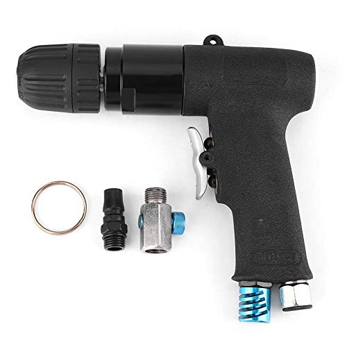 Reversible Air Pneumatic Heavy Duty Pistol-Grip Drilling Tool for furniture, hardware, machinery production