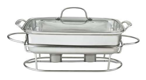 Cuisinart 7BSRT-31 Classic Entertaining Collection 12-Inch, 5-Quart Stainless Rectangular Buffet Server