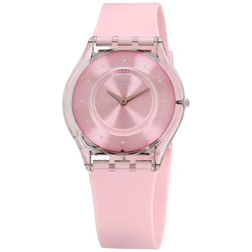 Swatch Skin Quartz Movement Pink Dial Unisex Watch SFE111