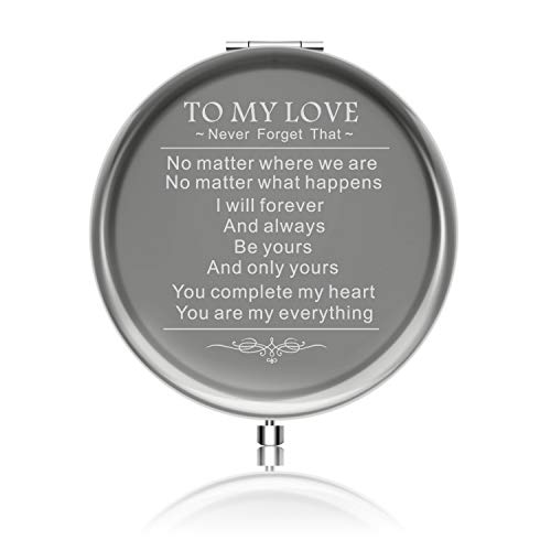 Personalized Girlfriend Gifts for Valentines Day Ideals Birthday Gift from boyfriend Engraved Anniversaries Gift to Girl from Family or Friend with Gift Box (You are my everything) (Best Gift For Valentines To A Boyfriend)