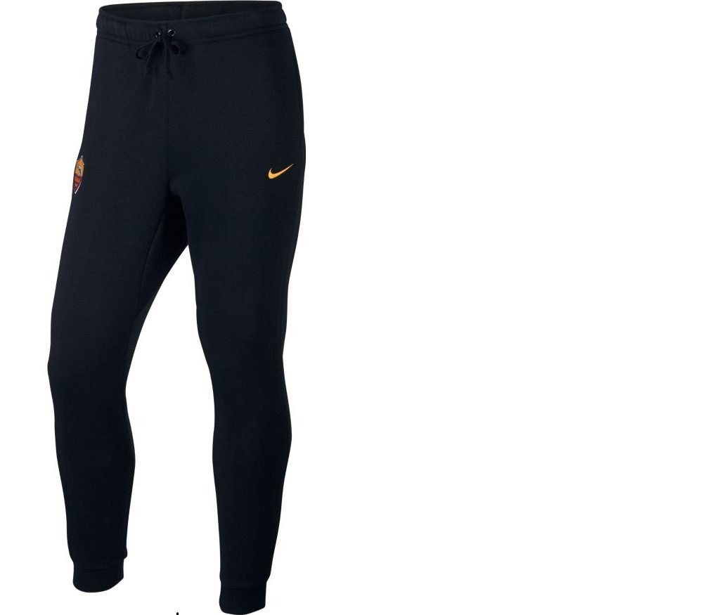 Nike Rom M NSW FLC Hose Cuffed Pant CRE Offiziellen Training Roma,  Herren, schwarz – (schwarz University Gold)