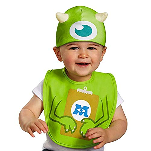 Disguise Baby's Disney Pixar Monster's University Mike Infant Bib and Hat, Green/Blue/Brown/White, 0-6 Months]()