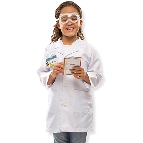 Lab Experiment Costume (Scientist Role Play Costume Set, Imaginative Toys, 2017 Christmas Toys)