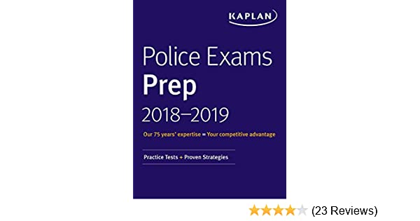Amazon com: Police Exams Prep 2018-2019: Practice Tests + Proven