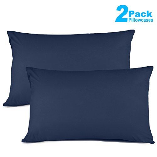 Review Of Sunnest 2 Pack Queen Size Pillow Cases Ultra Soft 100% Microfiber Cotton Pillow Cover, 20...