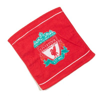 Liverpool FC Face Cloth/Flannel, Red Linens Limited l10fcllv